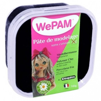 WePAM Noire Pâte de modelage 145 ml