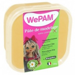 WePAM - Modelliermasse in luftdichter Box, 145 ml, Biskuit
