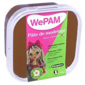 WePAM - Modelliermasse in luftdichter Box, 145 ml, Schokolade