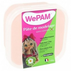 WePAM - Modelliermasse in luftdichter Box, 145 ml, Fleischfarbe