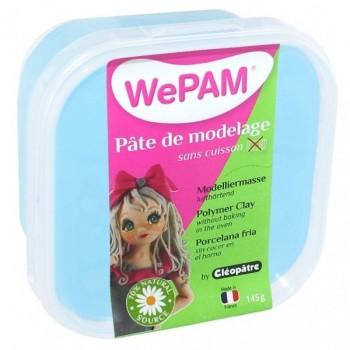 WePAM - Modelliermasse in luftdichter Box, 145 ml, Azur