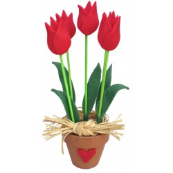 Tutoriel bouquet de tulipes