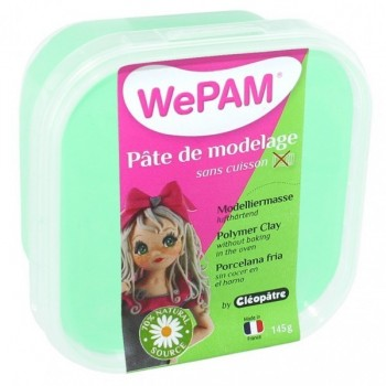 WePAM - Modelliermasse in luftdichter Box, 145 ml, Minze