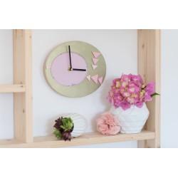 Tutoriel horloge rose et bronze