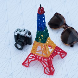 Tutorial Eiffel Tower 3D Paint (in french)