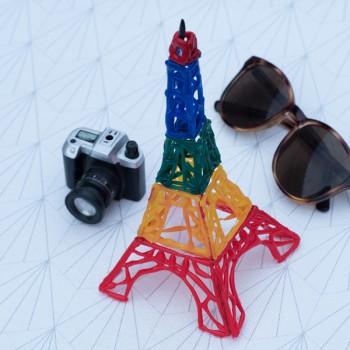 Tutoriel tour Eiffel peinture 3D