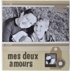 """Tutoriel page """"mes deux amours"""""""