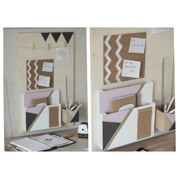 tutoriel diy organisation bureau. Black Bedroom Furniture Sets. Home Design Ideas