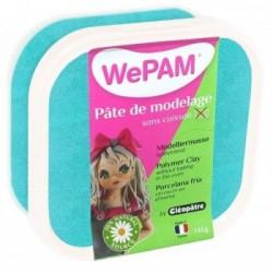 WePAM - Modelliermasse in luftdichter Box, 145 ml, Perlmutt-Türkis