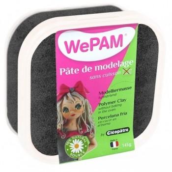 WePAM - Modelliermasse in luftdichter Box, 145 ml, Perlmutt-Schwarz