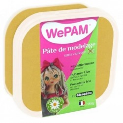 WePAM - Modelliermasse in luftdichter Box, 145 ml, Gold