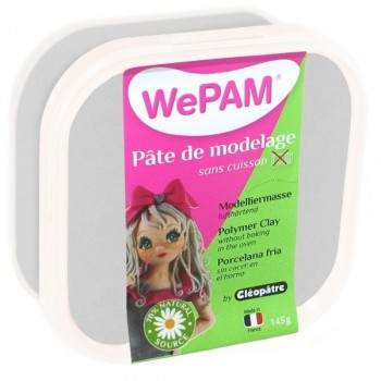 WePAM ARGENT pâte de modelage 145 ml