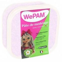 WePAM - Modelliermasse in luftdichter Box, 145 ml, Glitzer-Weiß