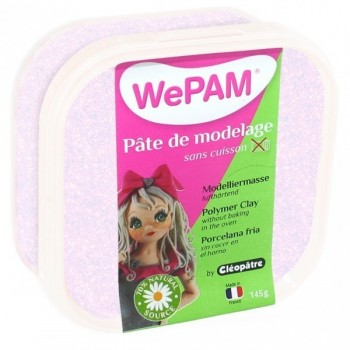Cold Porcelain WePAM 145 gr, Glittery White