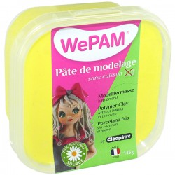 WePAM JAUNE pâte de modelage 145 ml