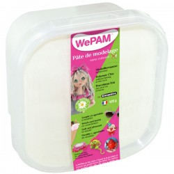 WePAM BLANC pâte de modelage 500 ml