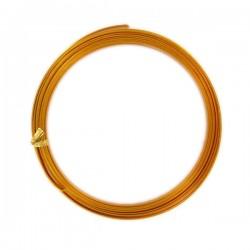 Fil en Alu Orange 1mmX10M