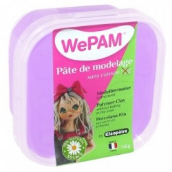 WePAM - Modelliermasse in luftdichter Box, 145 ml, Lavendel