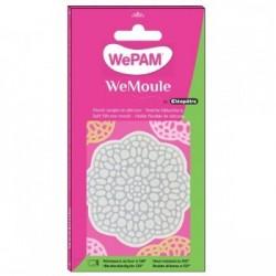 WeMoule – Silikonform, Rundes Deckchen, 8 cm