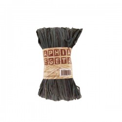 Raphia Végétal Noir 50gr