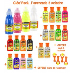 CLEO'PACK : J'apprends à peindre""