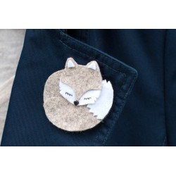 Tutoriel broche renard