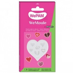 Multi heart Silicon Mould - WeMoule