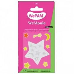WeMoule – Silikonform, Sterne