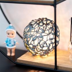 Tutoriel boule de Noël lumineuse