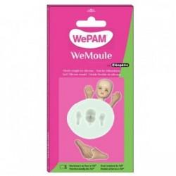 WeMoule – Silikonform, Gesicht und Hände