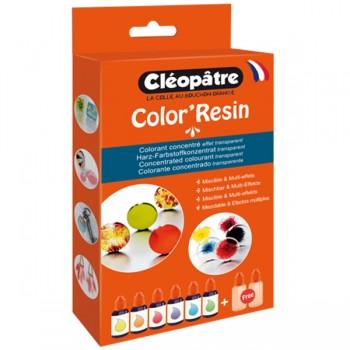 Boîte 6 Color'Resin