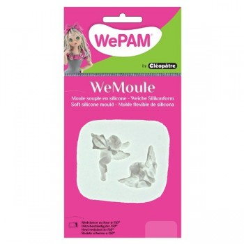 Angel and cupid Silicon Mould - WeMoule