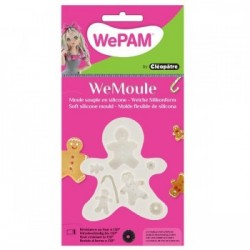 WeMoule-  Silikonform, Familie der Honigkuchen