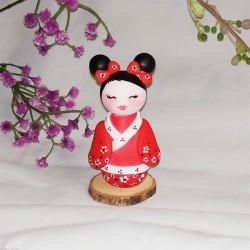 Figurine poupée asiatique par Natasel