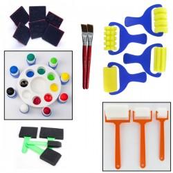 Coffret d'accessoires pour la peinture