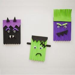 Petits monstres d'Halloween