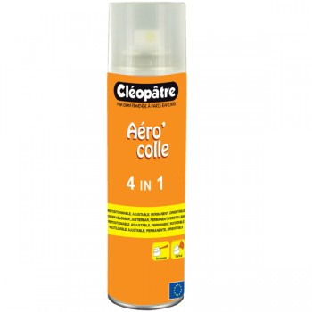 Aéro'colle 4 in 1 : repositionable, adjustable, permanent, rotatable  250 ml