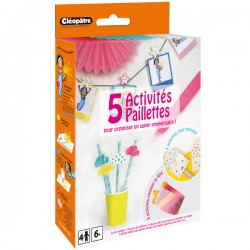 CLÉO'BOX - 5 Activités Paillettes