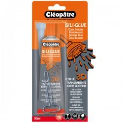 Sili-glue colle silicone en 80 gr avec embout de précision