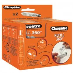 Boîte de 12 recharges Refill pour Effac'Encre 360°