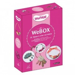 WeBOX 1 : 20 ideas to create the latest jewellery trends.  Book + WePAM