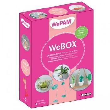 WeBOX 2: 20 objets déco à créer  Livre + WePAM