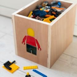 Boîte de rangement enfant