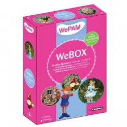 WeBOX 3 : 10 plastiline figurines to model by yourself Book + WePAM