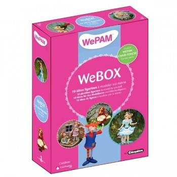 WeBOX 3: 10 figurines à créer  Livre + WePAM