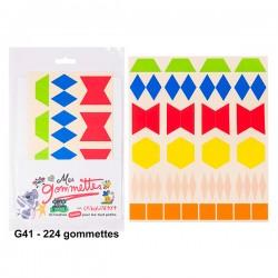Gommettes géométriques Arithmic