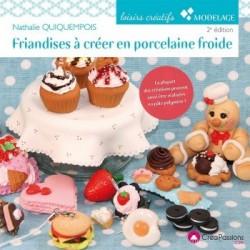 Book (in french) friandises à créer en porcelaine froide par Natasel