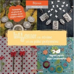 Book epoxy resin jewels by louanne blue (french)