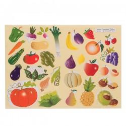 Gomettes fruits et légumes