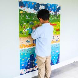 Atelier gommettes - Poster géant